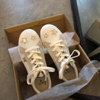 星星鞋板鞋女韩版ulzzang2019ins潮复古学生百搭鞋子 图片色