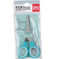 得力6007剪刀儿童圆头剪刀 安全剪 手工剪刀 学生儿童小剪刀