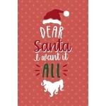 预订 Dear Santa I Want It All: Notebook Journal Composition B