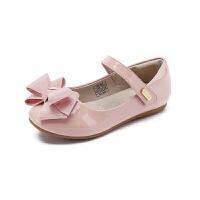 【199元任选2双】百丽童鞋女童小皮鞋时尚单鞋