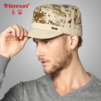 kenmont帽子男士时尚平顶帽韩版军帽棒球帽1478