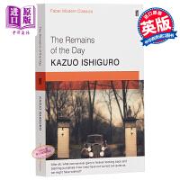 【中商原版】石黑一雄 长日留痕 英文原版 Kazuo Ishiguro 2017年诺贝尔文学奖获得者 The Remains of the Day