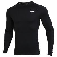 Nike耐克男�b�\�臃�健身���o身衣�A�I�L袖T恤BV5589-010