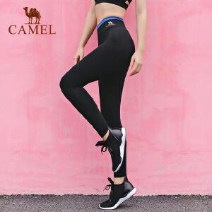 camel骆驼瑜伽裤 运动跑步长裤健身瑜伽服束腿裤女