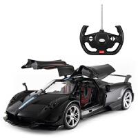 帕加尼遥控车玩具赛车 儿童遥控汽车玩具车模超大兰博基尼跑车