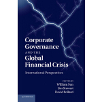 【预订】Corporate Governance and the Global Financial Crisis: I