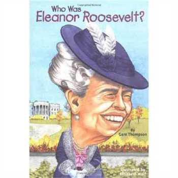 英文原版 名人传记系列 Who Was Eleanor Roosevelt? 2147483647