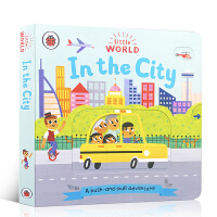英文原版 Little World: In the City A push-and-pull adventure 小小