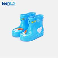 天美意童鞋男童水靴女童靴子雨鞋