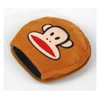 暖手鼠标垫 保暖鼠标垫 可爱加热发热 USB暖手鼠标垫 大嘴猴