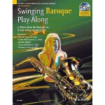 预订 Swinging Baroque Play-Along: Alto Saxophone [With CD (Au