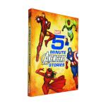 【中商原版】英文原版 5-Minute Avengers Stories 5分钟复仇者联盟故事集 12个故事合集 迪士
