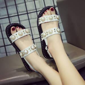ELEISE美国艾蕾莎新品060-77688甜美女士凉鞋