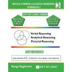 预订 Critical Thinking and Logical Reasoning Workbook-3 [ISBN