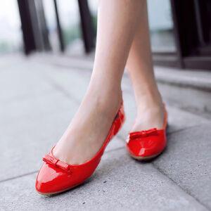 O'SHELL欧希尔新品057-1610韩版平底鞋女士豆豆鞋