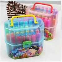 满99包邮 西瓜太郎 36色桶装水彩笔 筒装水彩笔 环保 水性 幼儿园推荐!