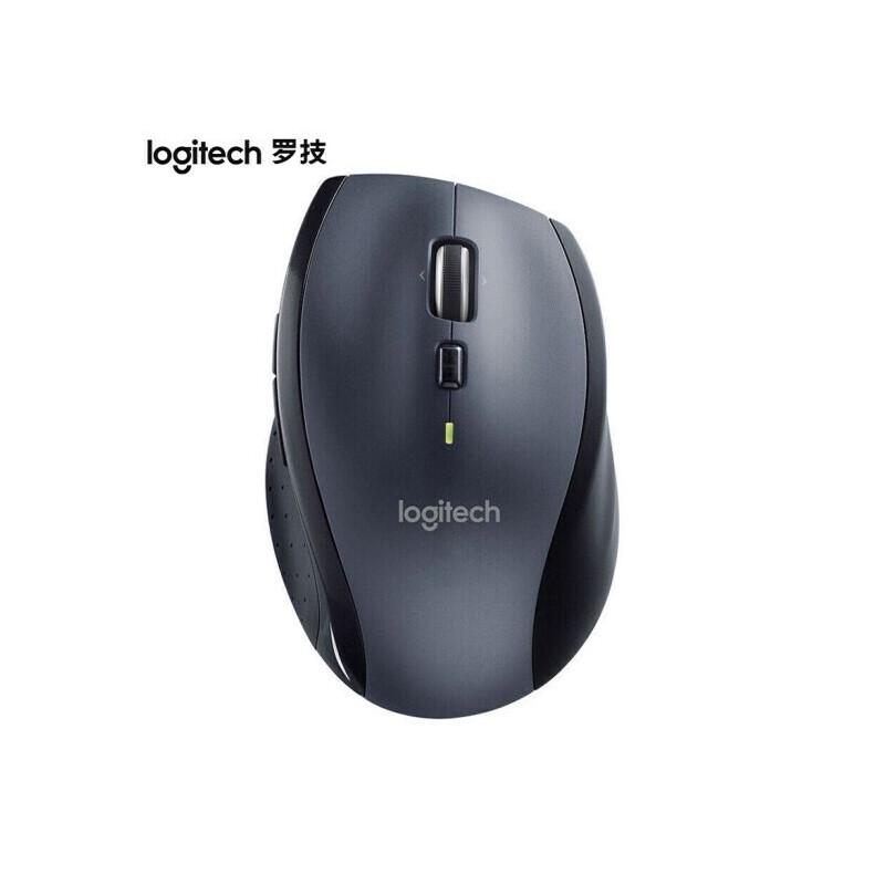 罗技(Logitech)M705 无线激光鼠标 疾速滚轮 优联接收器