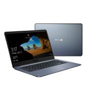 华硕(ASUS) E406MA 14英寸商务时尚轻薄学生办公笔记本手提电脑高清版 (N4100 4G内存 128G E