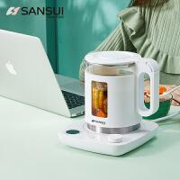 SANSUI 山水智能养生壶全自动加厚玻璃家用多功能煮茶器花茶壶KT-870
