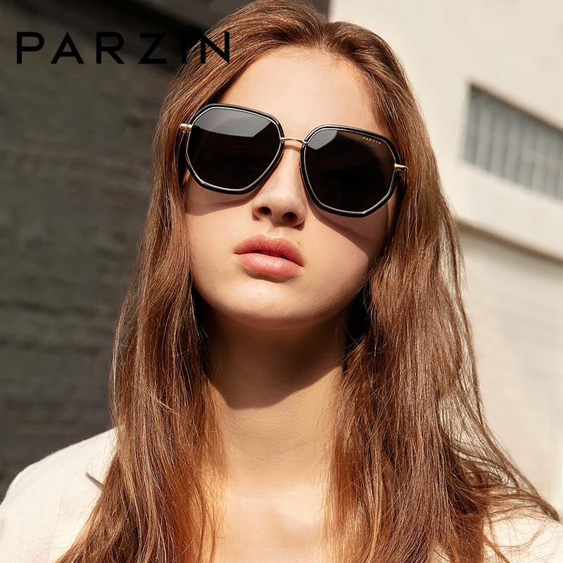 帕森偏光太阳镜  女士时尚潮流多边形大框彩膜墨镜9910 时尚潮流 多边形框 新品上市
