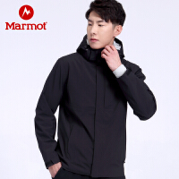Marmot/土拨鼠2020户外运动防水透气男士冲锋衣