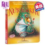 【中商原版】胡桃夹子 英文原版 The Nutcracker 经典童话故事 纸板书 童话芭蕾 4-9岁