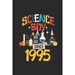 预订 Science Boy Since 1995: Graph Ruled Notebook - Journal F