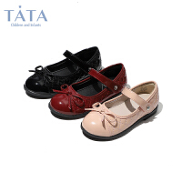 【券后价:132.7元】他她Tata童鞋小香风公主鞋软底舒适女童皮鞋英伦风儿童单鞋学生演出鞋