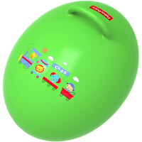费雪(Fisher Price)儿童玩具球 宝宝健身球 蛋形跳跳球(绿色 赠充气脚泵)F0706H2