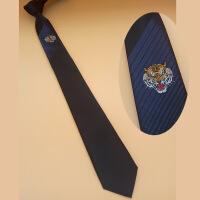 新男士正装领带狮子会新款LOGO领带定制定做 职业正装企业单位团体男士领带定制u0