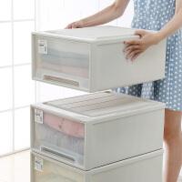 塑料整理箱抽屉式收纳箱透明收纳盒特大号多层组合储物柜儿童衣柜