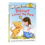 进口英文原版 Biscuit Loves the Park 小饼干逛公园 [4-6岁]