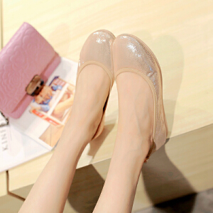 O'SHELL欧希尔新品057-1504韩版平底鞋女士豆豆鞋