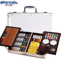 儿童画笔套装美术学习用品画画工具绘画蜡笔女孩水彩笔工具箱礼物