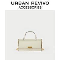 URBAN REVIVO2021春夏新品女士配件时尚链条单肩包AW16TG1N2002