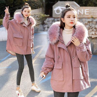 孕后期韩版棉袄孕妇棉衣2019年冬季新款大码短款外套