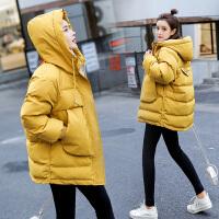 冬季孕后期棉衣孕妇冬装外套秋冬外穿加厚韩版宽松棉袄