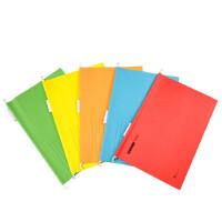 富得快吊夹 B4夹纸质挂快劳文件夹名片夹5色可选 25个装 98330