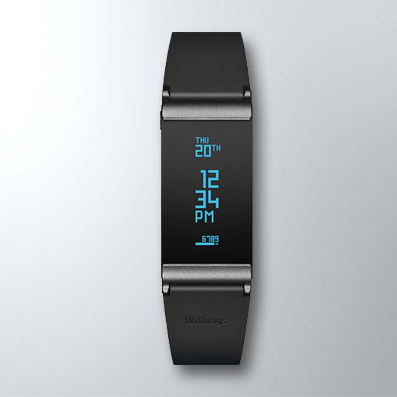 Withings Pulse O2 运动智能跟踪器手环 睡眠追踪 心率计 计步器兼容苹果安卓 蓝牙4.0监测心率计步器运动手环