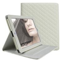 ikodoo爱酷多 苹果平板电脑ipad2/3/4北欧风情保护套 智能休眠仿羊皮皮套 手工制作时尚复古ipad2保护套