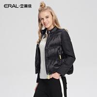 ERAL/艾莱依秋冬短款羽绒服女轻薄修身韩版立领羽绒衣12007-EDAA