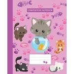 预订 Composition Notebook: College Ruled - Kitty Cat And Funn