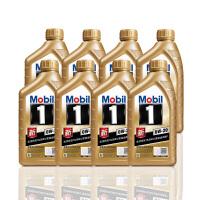 美孚(Mobil) 金美孚1号新品 金装 发动机润滑油 汽车机油 全合成机油 API SN 0W-20 1L*8
