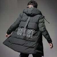 【限量抢购,好质量】棉衣男中长款加厚外套韩版棉服冬季棉袄子