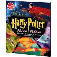 英文原版 哈利波特 Harry Potter Paper Flyers