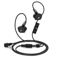 森海塞尔(Sennheiser)耳塞 IE8i 集成麦克/音量控制 支持苹果 入耳式耳机 黑色