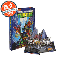 忍者神龟立体书 英文原版 Teenage Mutant Ninja Turtles: The Pop-Up Book