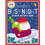 预订 Sticker Activity Books Santa's Busy Night Bind Up [ISBN: