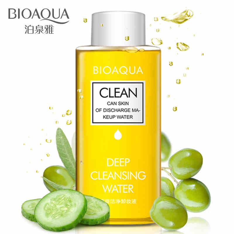 泊泉雅 橄榄卸妆水温和脸部卸妆油 深层清洁卸妆液乳液 正品 明星都在用