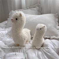 创意搞怪草泥马羊驼公仔毛绒玩具可爱玩偶抱枕布娃娃生日礼物女孩